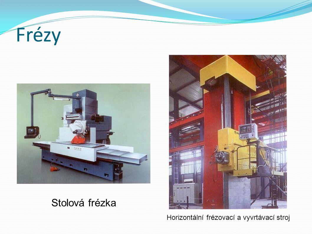 Frézy Horizontální frézovací a vyvrtávací stroj Stolová frézka