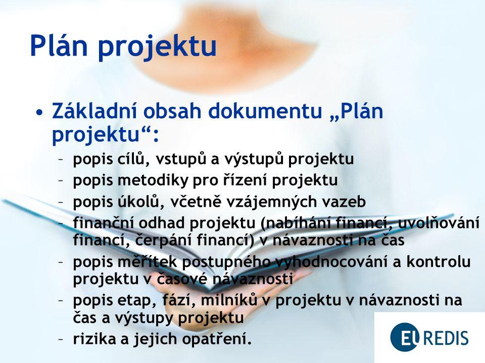 Tvorba plánu projektu