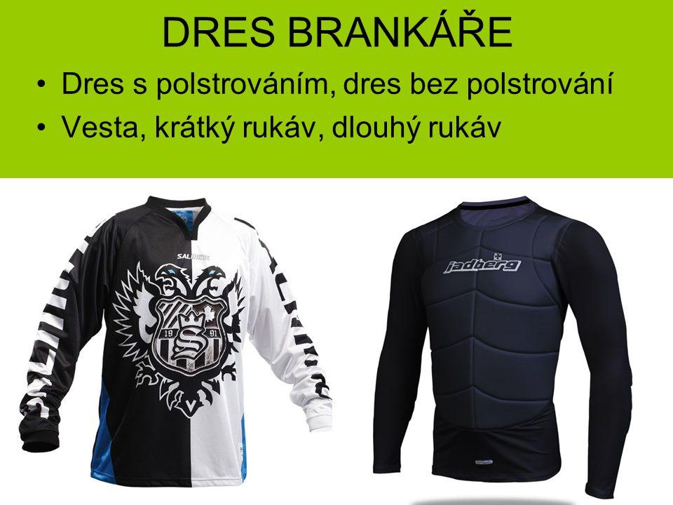 DRES BRANKÁŘE Dres s polstrováním, dres bez polstrování Vesta, krátký rukáv, dlouhý rukáv