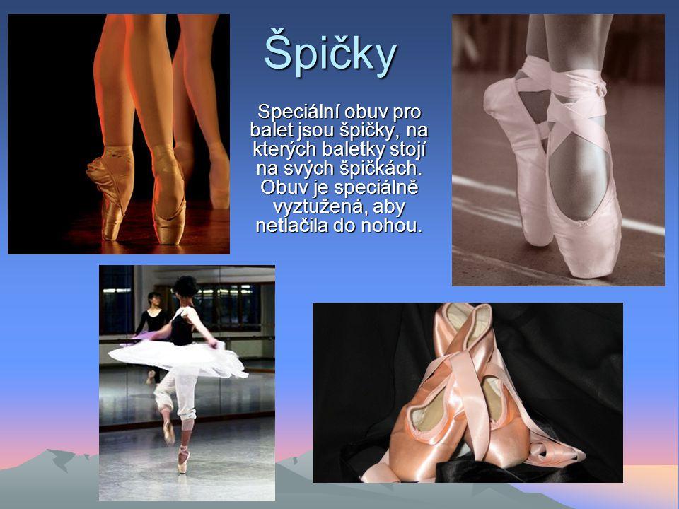 Balet je forma scénického tance, která za doprovodu hudby vyjadřuje určitý děj. Předchůdcem baletu byly italské operní tance. Balet jako samostatné ta