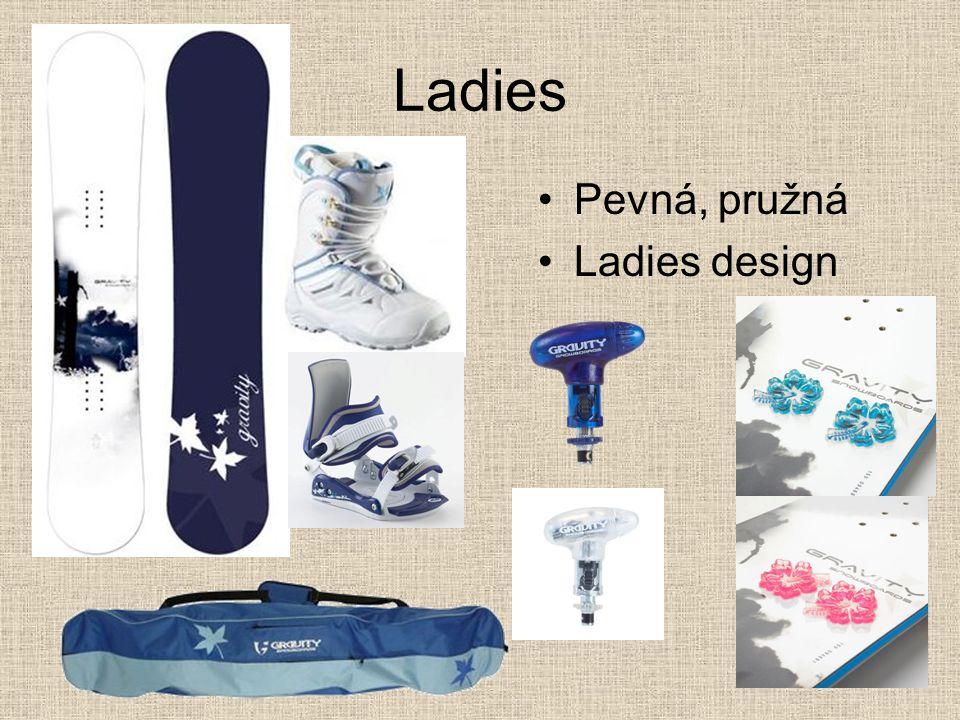 Ladies Pevná, pružná Ladies design