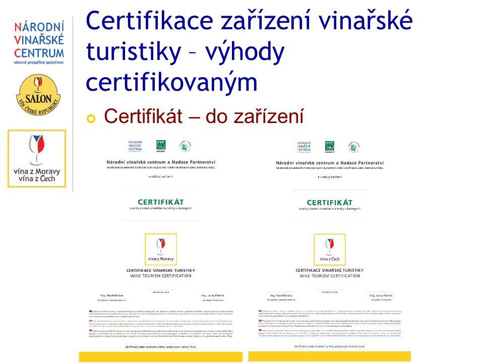 Certifikát – do zařízení