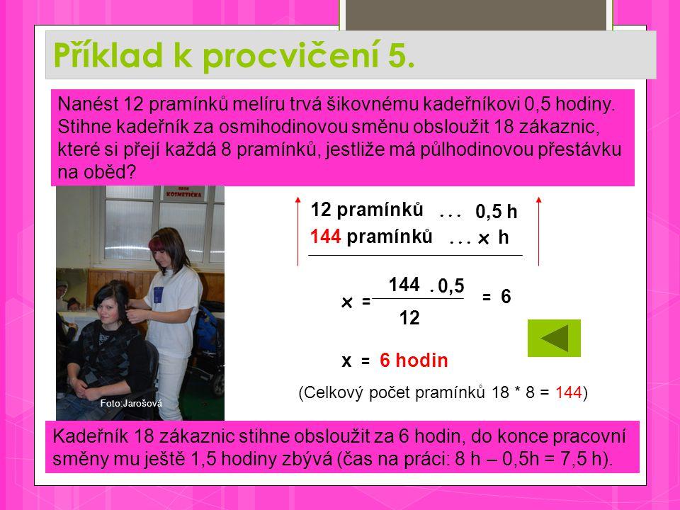 Příklad k procvičení 5.