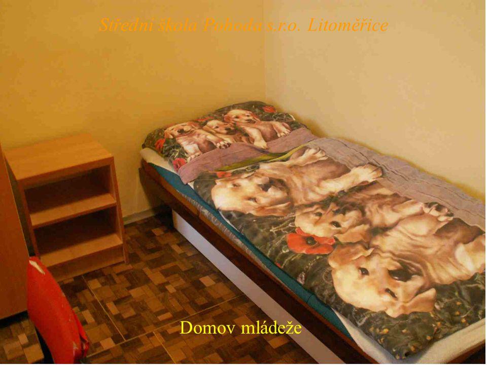 Domov mládeže Střední škola Pohoda s.r.o. Litoměřice