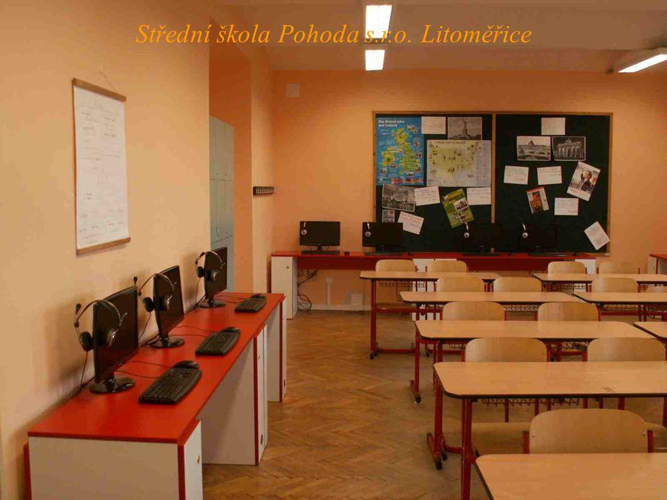 Společenská místnost Střední škola Pohoda s.r.o. Litoměřice