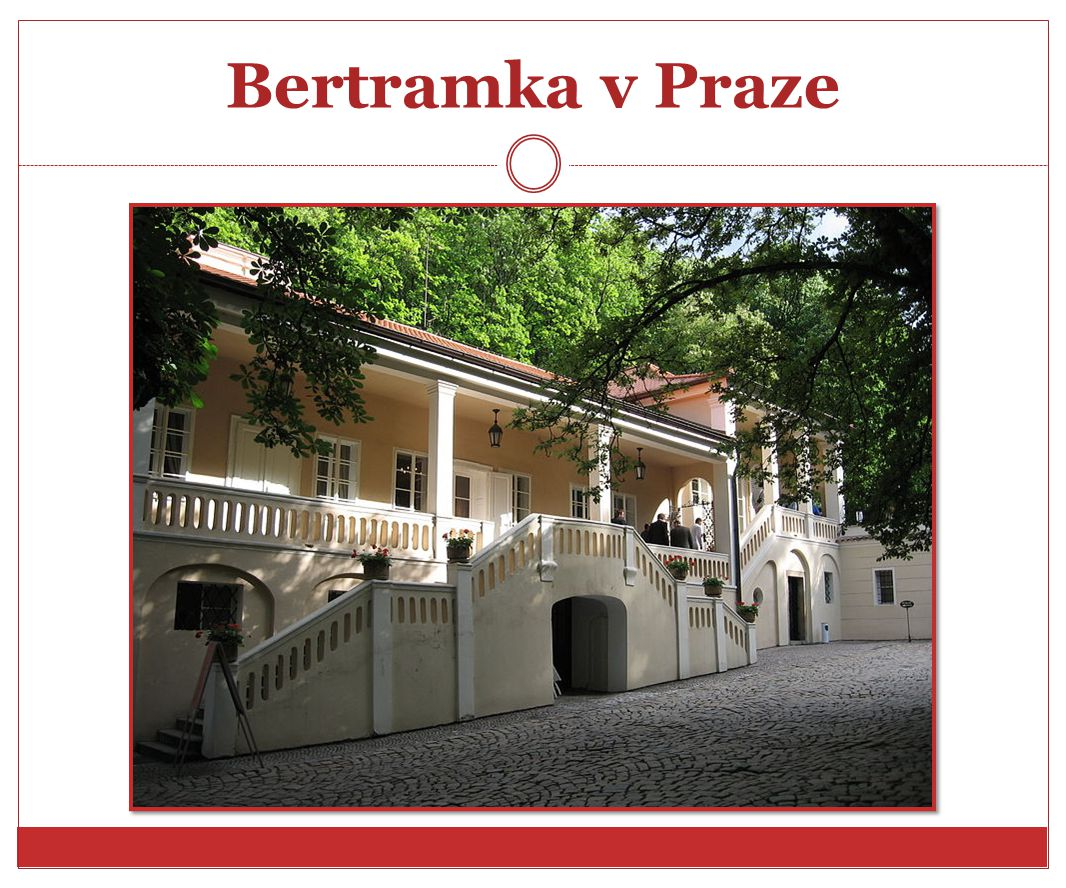 Bertramka v Praze