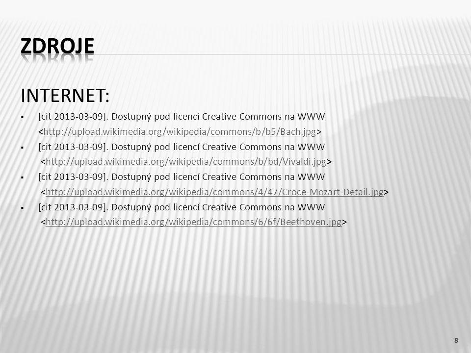 INTERNET:  [cit 2013-03-09]. Dostupný pod licencí Creative Commons na WWW ˂http://upload.wikimedia.org/wikipedia/commons/b/b5/Bach.jpg˃http://upload.