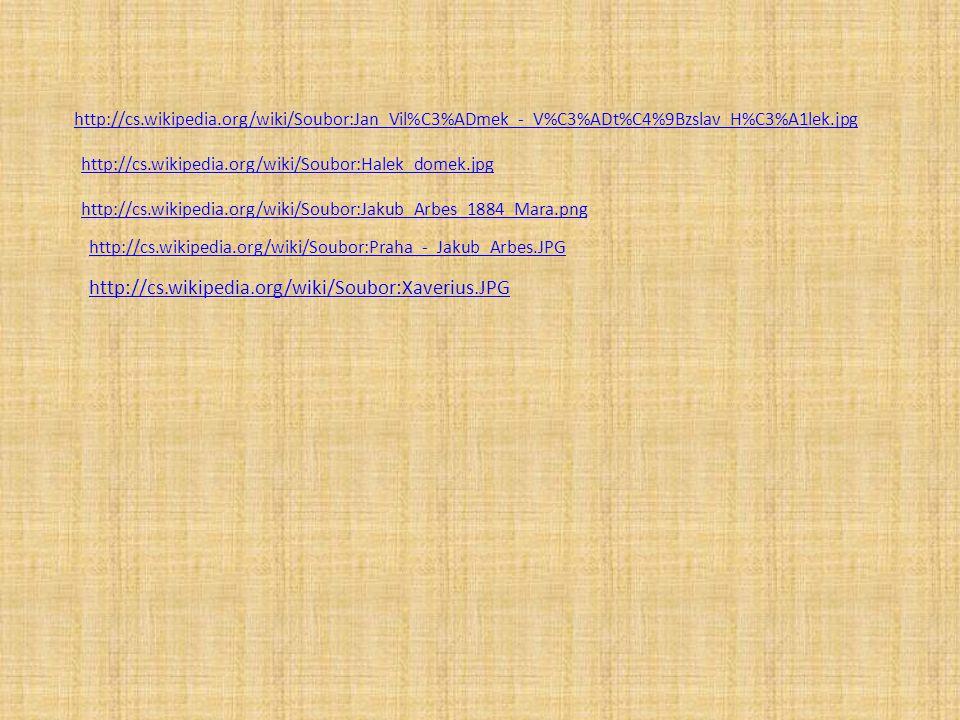 http://cs.wikipedia.org/wiki/Soubor:Jan_Vil%C3%ADmek_-_V%C3%ADt%C4%9Bzslav_H%C3%A1lek.jpg http://cs.wikipedia.org/wiki/Soubor:Halek_domek.jpg http://c