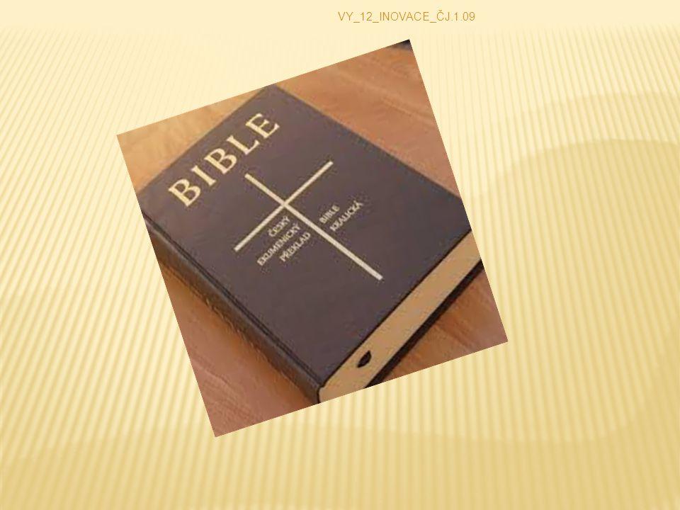  Soubor knih. Knihy jsou posvátné a inspirované Bohem.