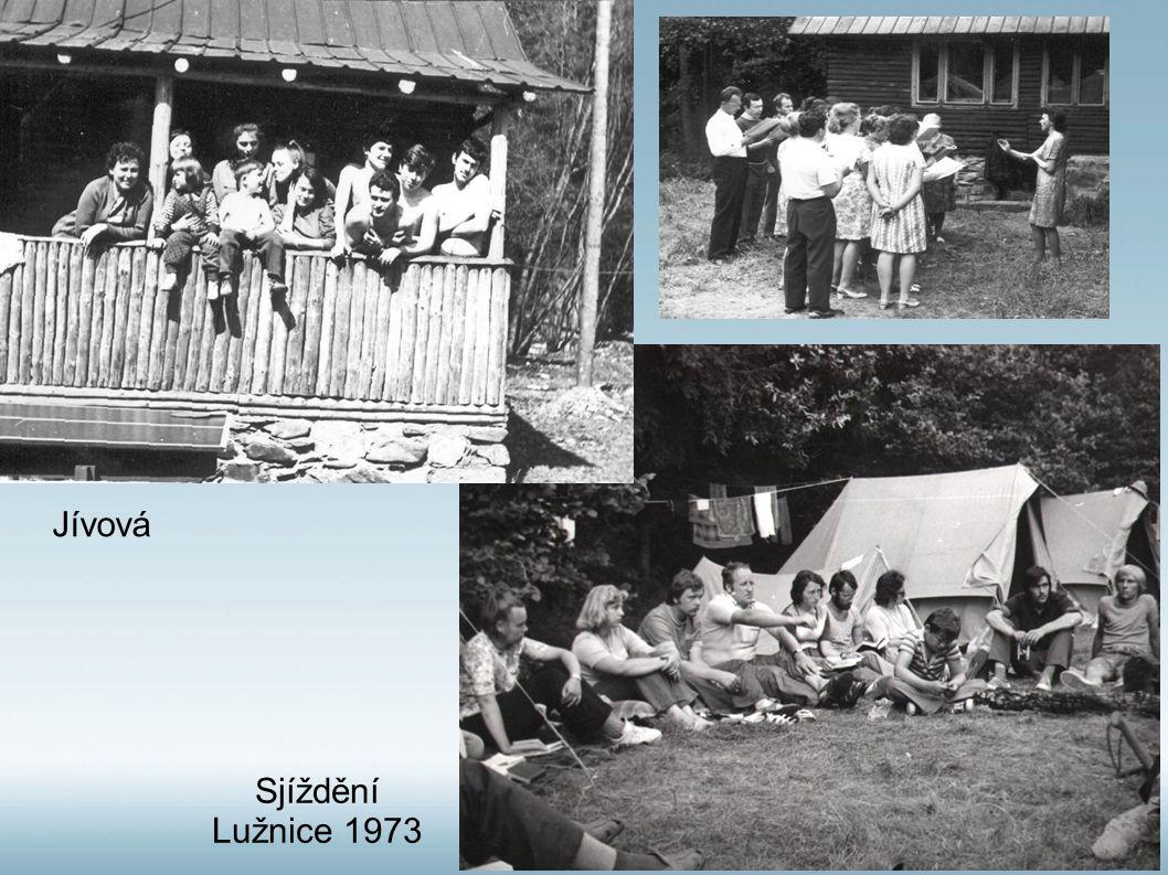 Sjíždění Lužnice 1973 Jívová