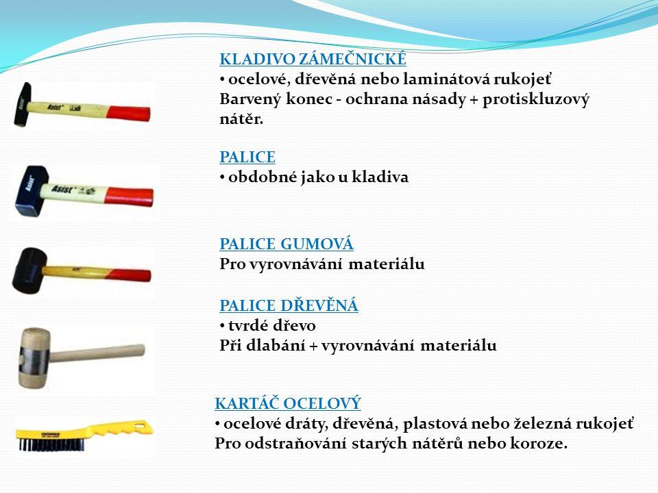 KLEŠTĚ KOMBINOVANÉ železné – plastové rukojeti Čelisti rovný, kruhový profil + stříhání tenkých drátů.