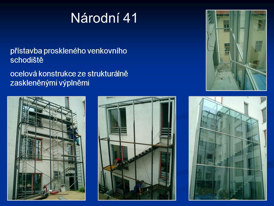 IPB Litoměřice - Mírové náměstí opláštění proskleného atria hliníkový systém HUECK