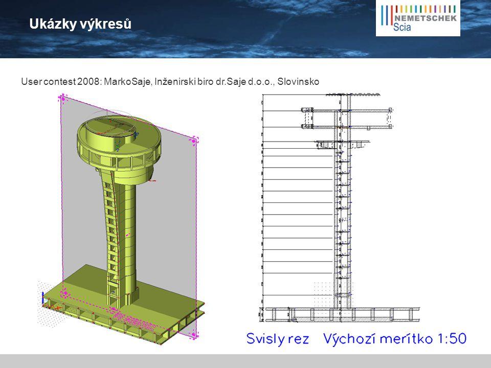 Ukázky výkresů User contest 2008: MarkoSaje, Inženirski biro dr.Saje d.o.o., Slovinsko