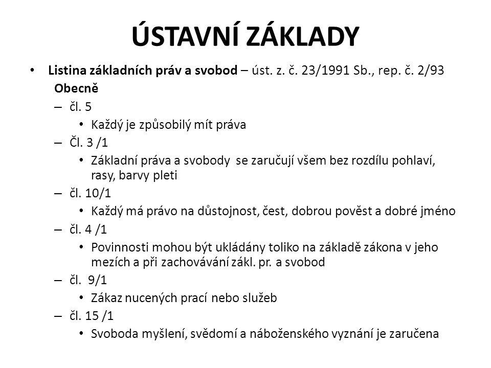 Speciálně – čl.26 /3 (.