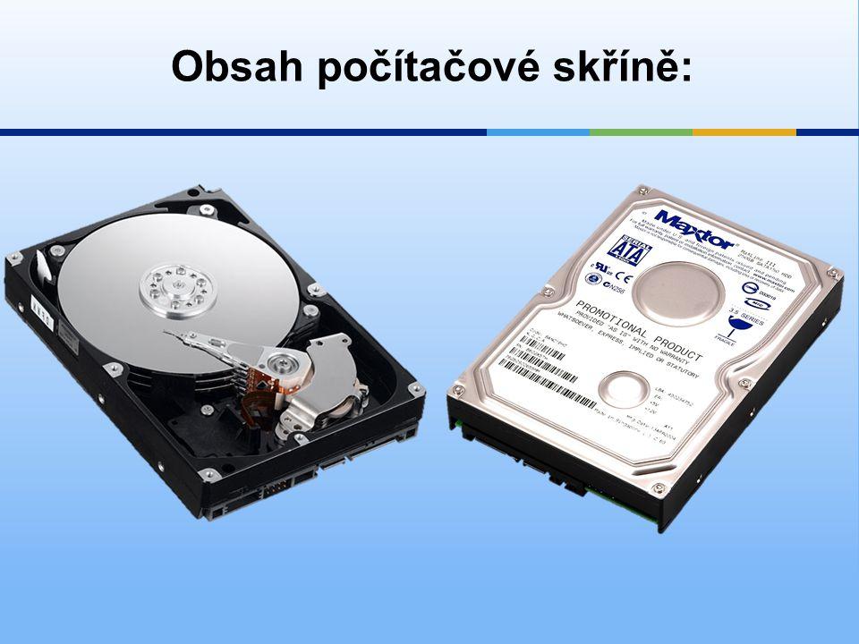 6)Disketová mechanika  zařízení, pomocí kterého je možné číst a zapisovat data na diskety.