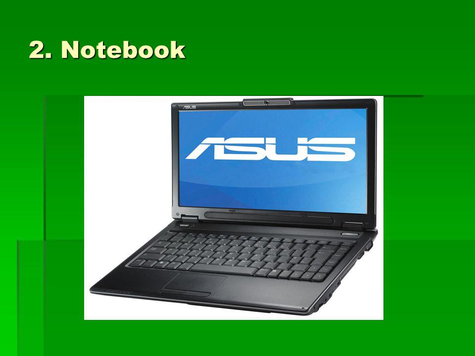 2. Notebook
