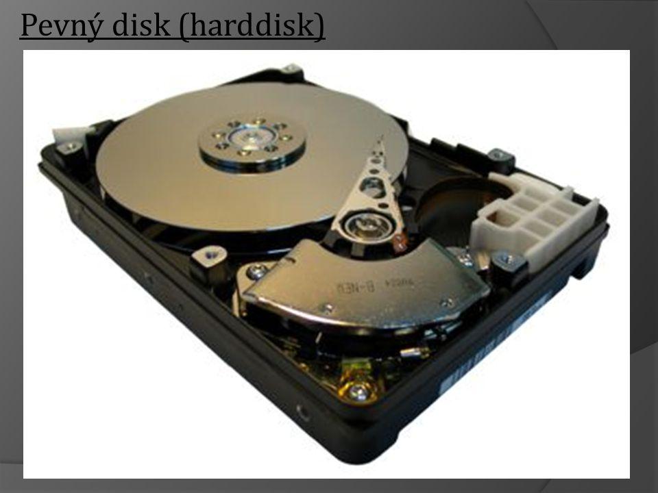Pevný disk (harddisk)