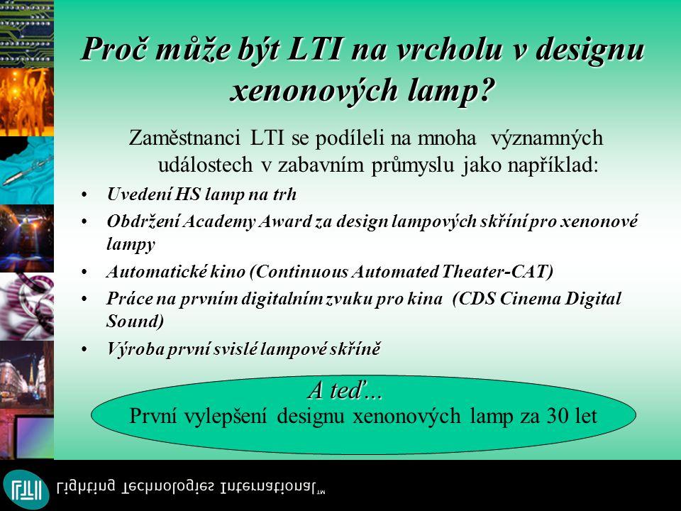 Proč může být LTI na vrcholu v designu xenonových lamp.