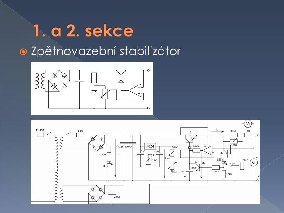  Jako stabilizátor je použit integrovaný obvod LM317LZ  Schéma z datového listu