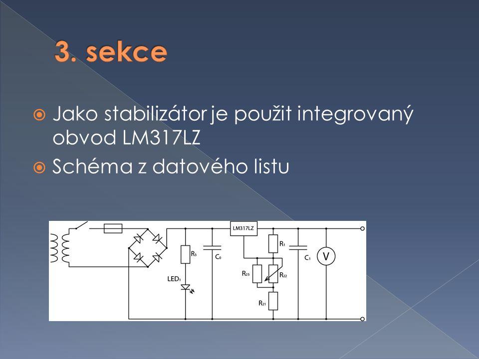  Chlazení výkonových tranzistorů › Napájení ventilátoru  Napájení měřících přístrojů  Návrh transformátoru  Návrh přístrojové skříně