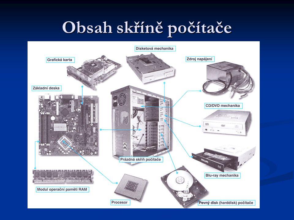 Externí zařízení počítače Monitor je základní zobrazovací zařízení počítače Umožňuje výstup informací a jejich zobrazení uživateli Nejčastější typy jsou LCD a CRT monitory