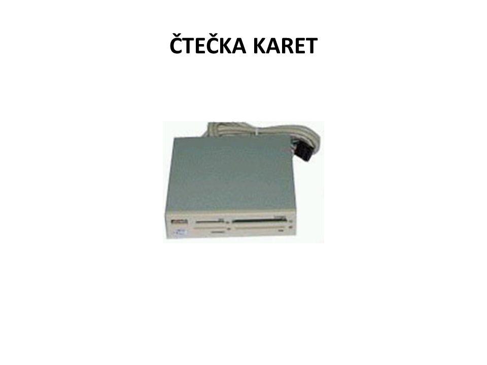 ČTEČKA KARET