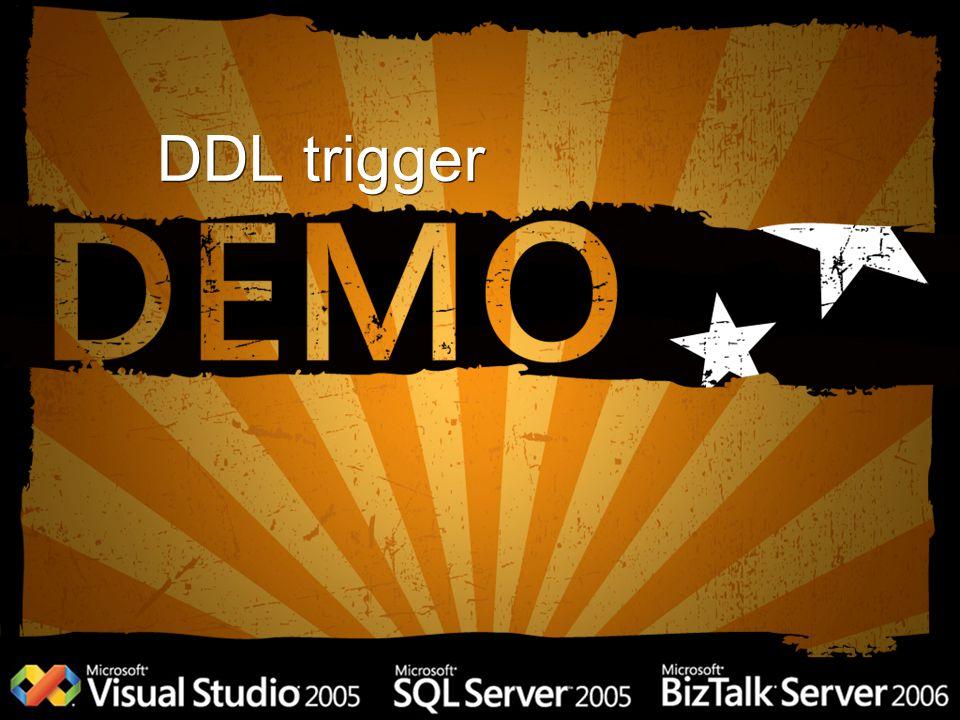 DDL trigger
