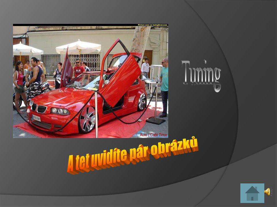 Úvod Tuning obrázky LOGAN AT Č lánek o tuningu BMW O Motorech Co pat ř í k tuningu Odkazy
