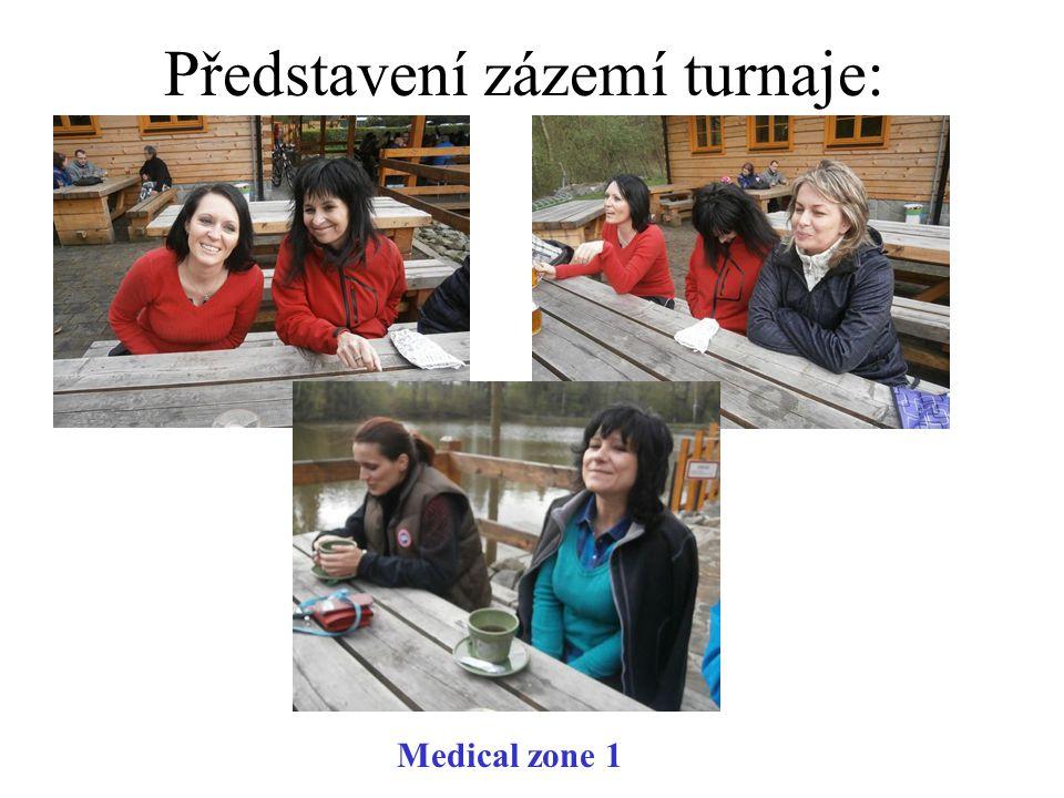 Představení zázemí turnaje: Medical zone 1