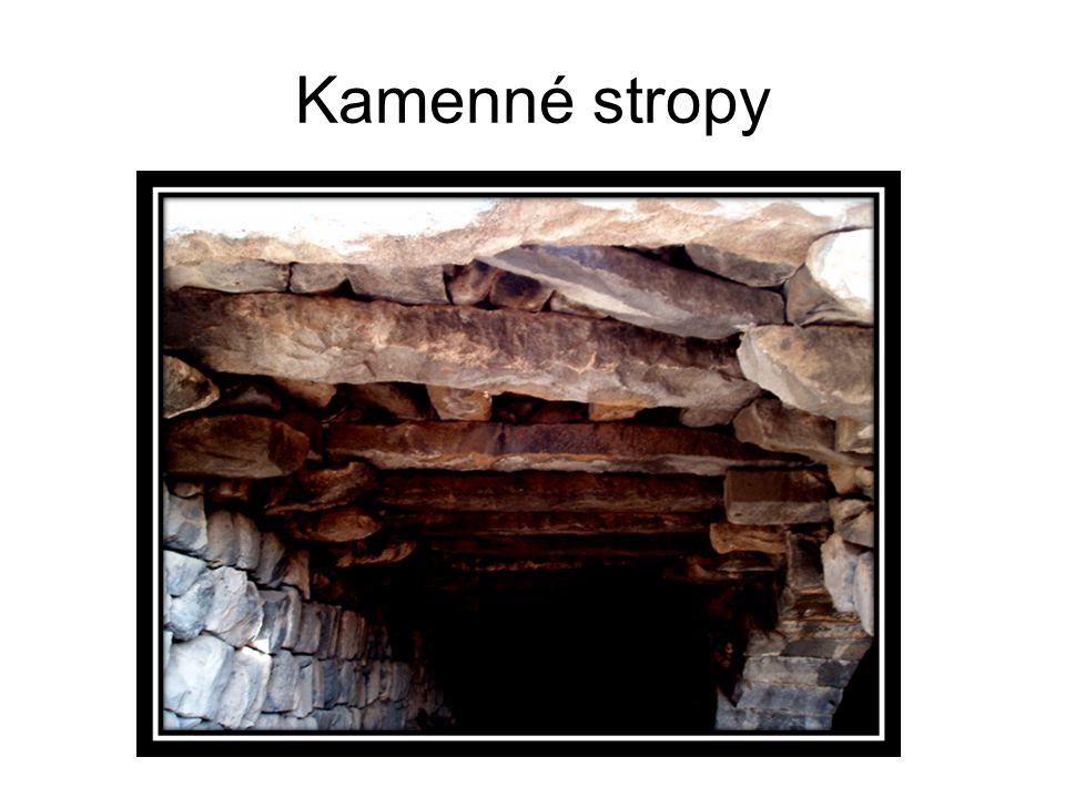 Kamenné stropy