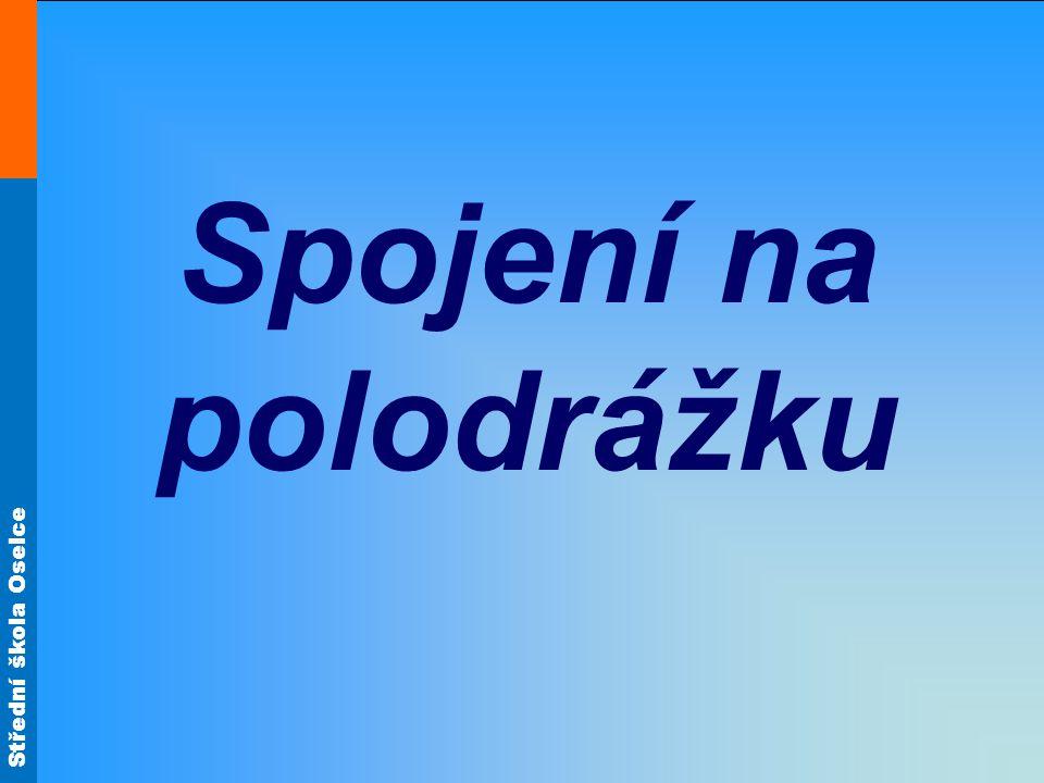 Střední škola Oselce Spoje na vlastní pero a drážku (charakteristika) Spojení na pero a drážku se skládá z drážky a vyříznutého vlastního pera.