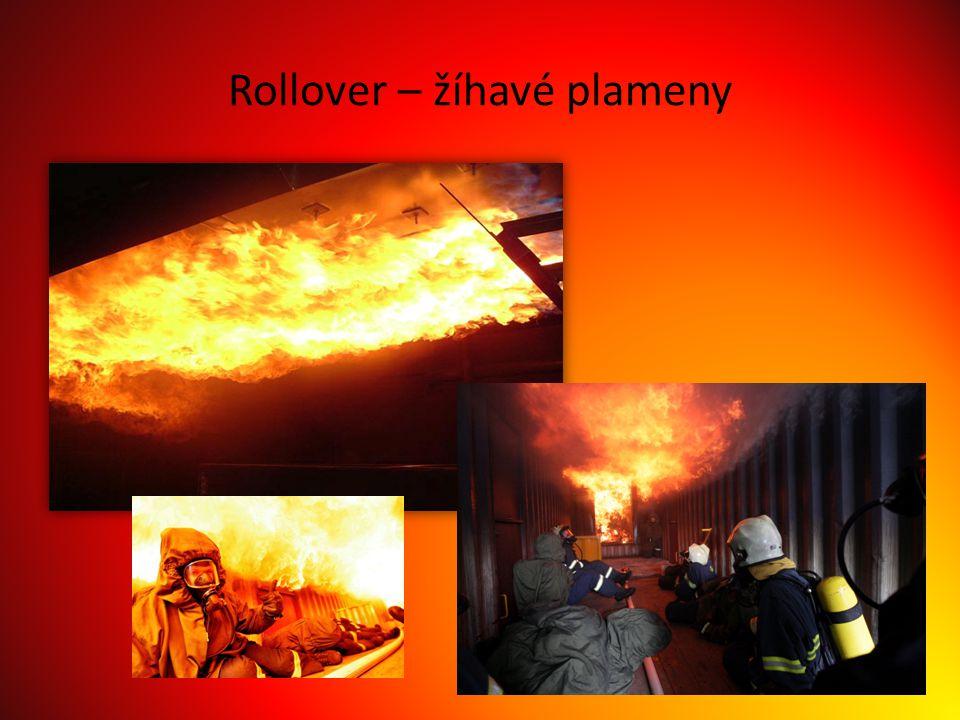 Rollover – žíhavé plameny