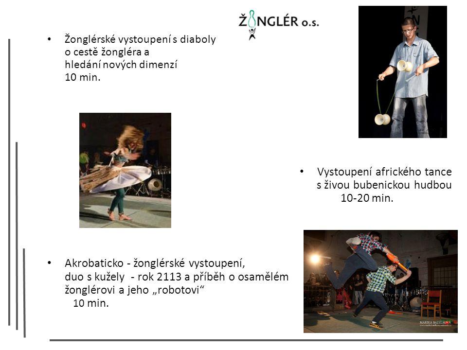 Žonglérské vystoupení s diaboly o cestě žongléra a hledání nových dimenzí 10 min.