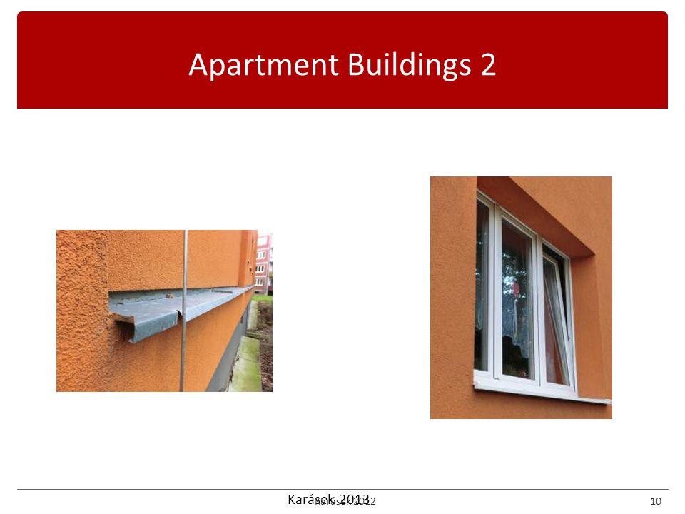 Karásek 2013 Apartment Buildings 2 Karásek 201210
