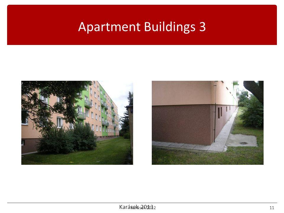Karásek 2013 Apartment Buildings 3 Karásek 201211