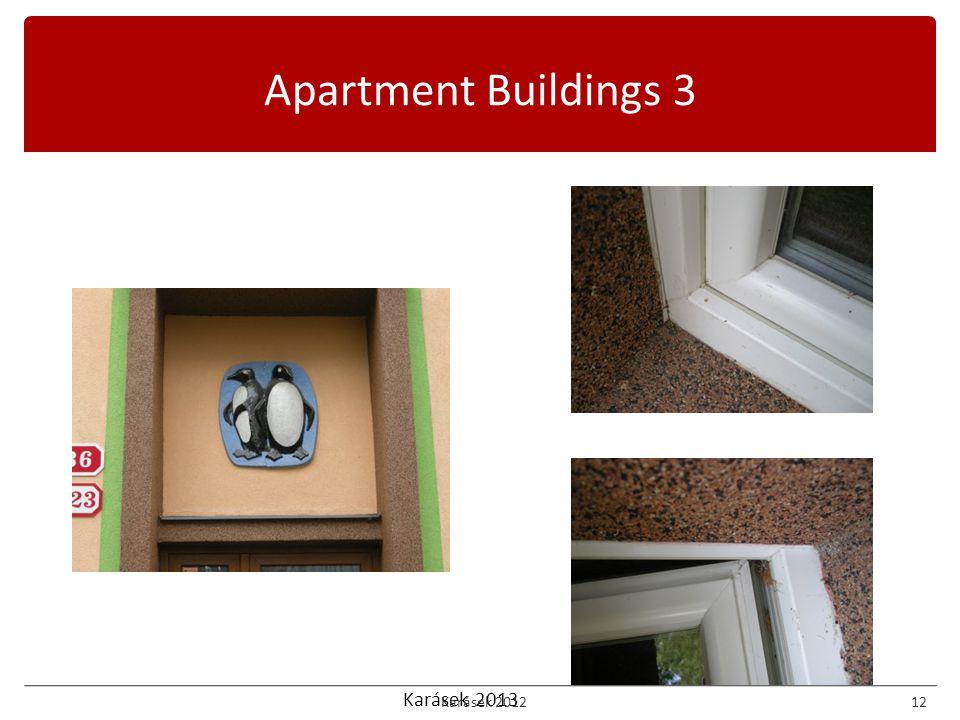Karásek 2013 Apartment Buildings 3 Karásek 201212