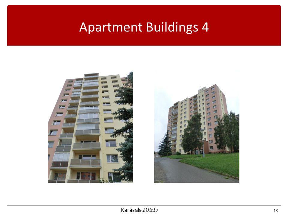 Karásek 2013 Apartment Buildings 4 Karásek 201213
