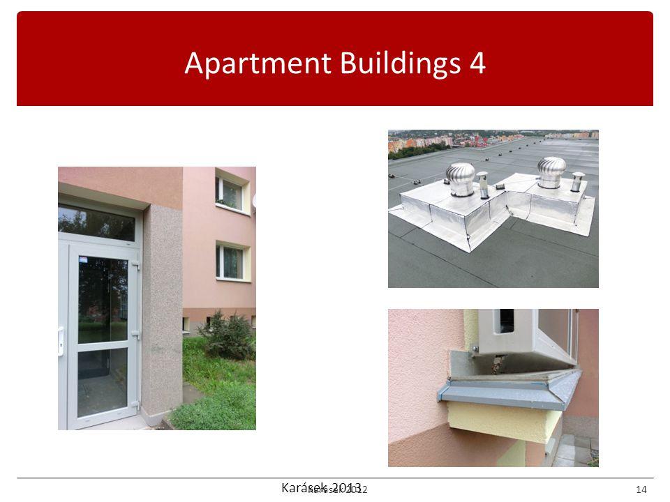 Karásek 2013 Apartment Buildings 4 Karásek 201214