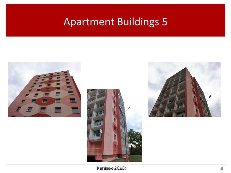 Karásek 2013 Apartment Buildings 5 Karásek 201215