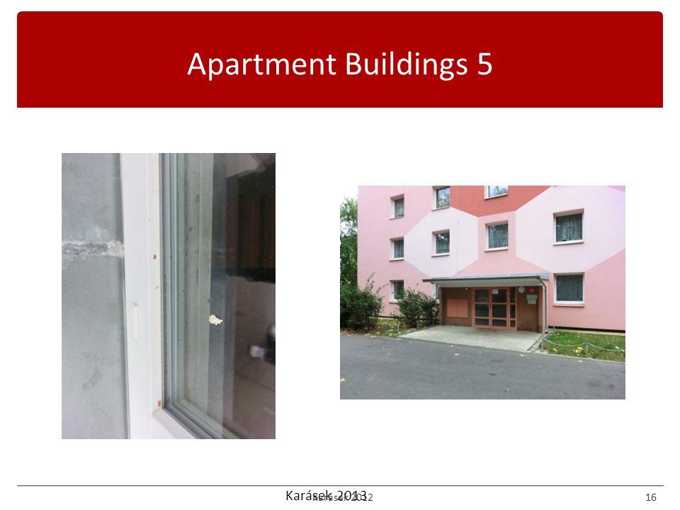 Karásek 2013 Apartment Buildings 5 Karásek 201216