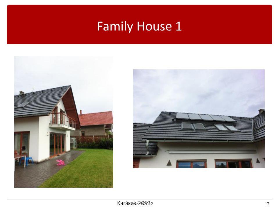 Karásek 2013 Family House 1 Karásek 201217