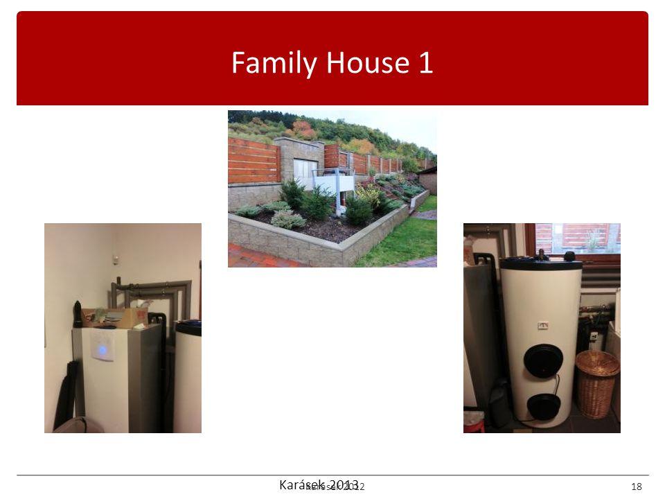 Karásek 2013 Family House 1 Karásek 201218