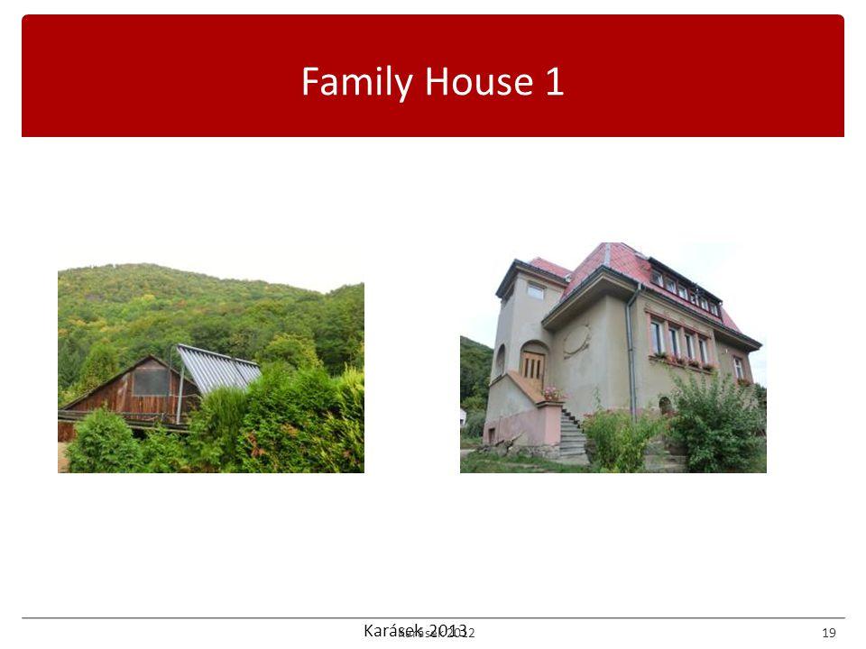Karásek 2013 Family House 1 Karásek 201219