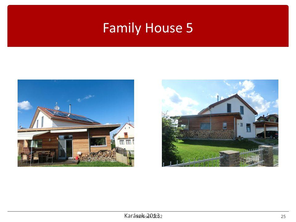 Karásek 2013 Family House 5 Karásek 201225