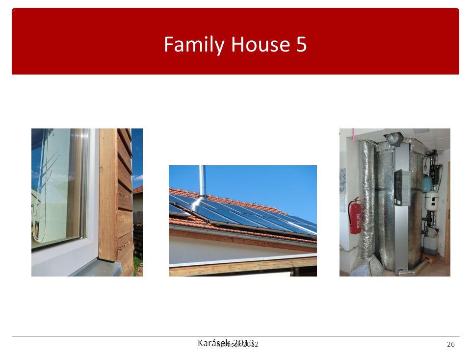 Karásek 2013 Family House 5 Karásek 201226