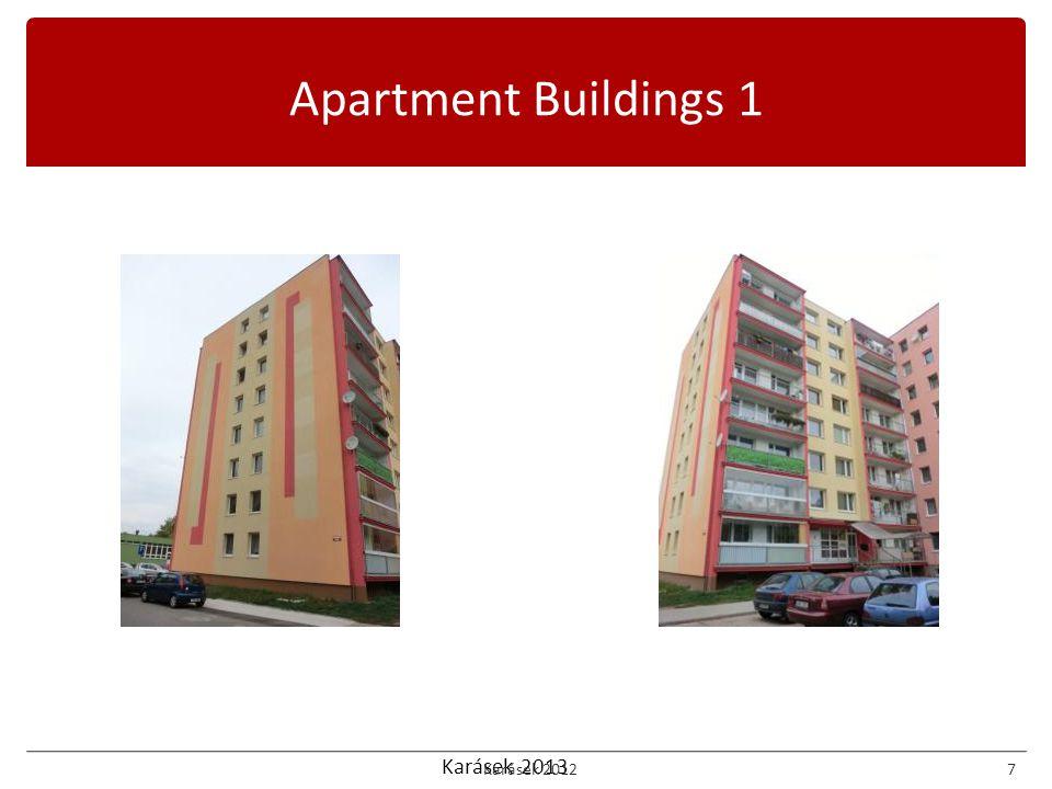 Karásek 2013 Apartment Buildings 1 Karásek 20127