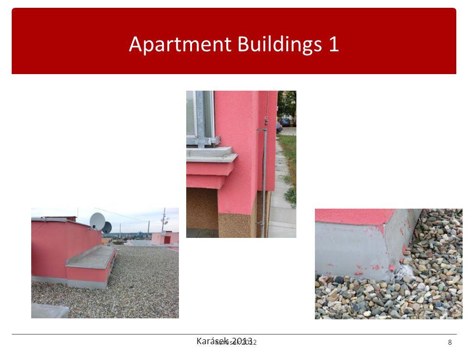 Karásek 2013 Apartment Buildings 1 Karásek 20128