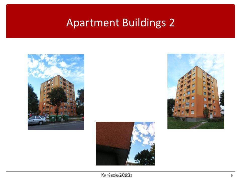 Karásek 2013 Apartment Buildings 2 Karásek 20129