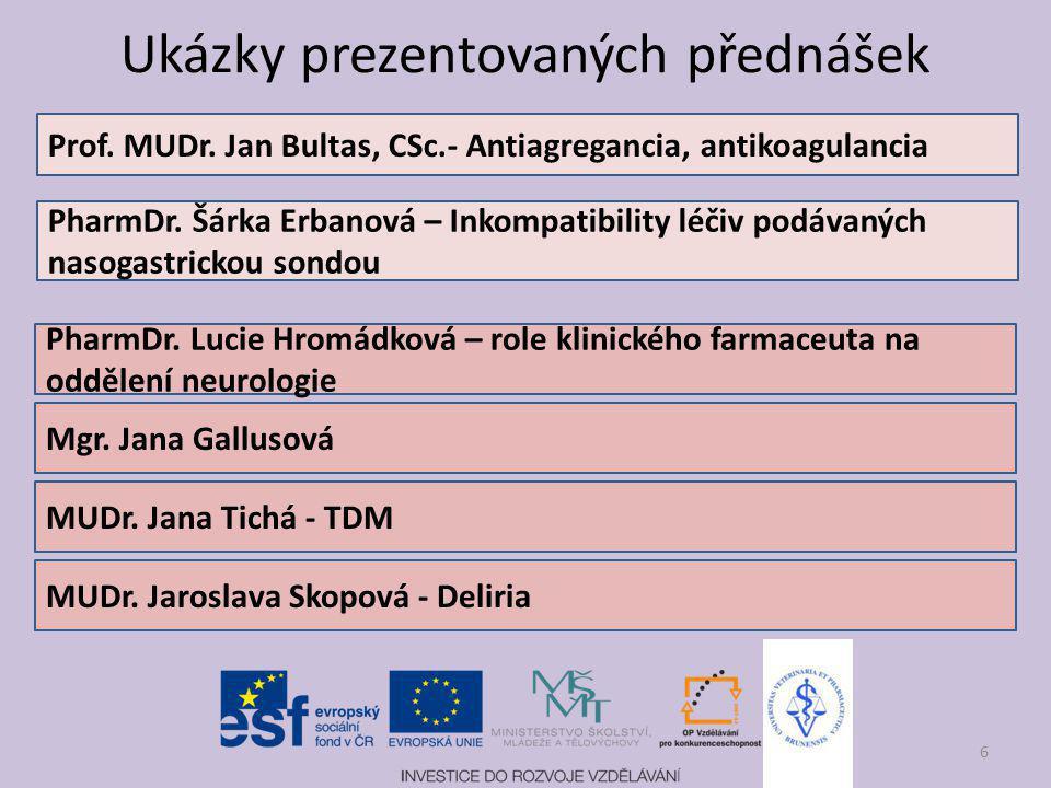 Antitrombotika - co nového? Jan Bultas Farmakologický ústav 3. LF UK