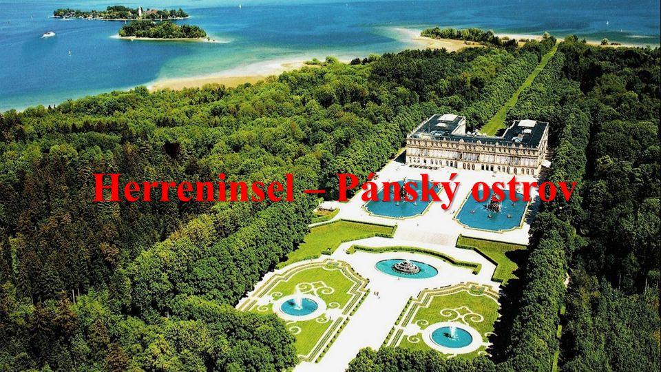 """Chiemské jezero (německy Chiemsee) zvané také """"Bavorské moře"""" je jezero v jihovýchodě Německa v Bavorsku. Má rozlohu 79,9 km² a maximální hloubku 73,4"""